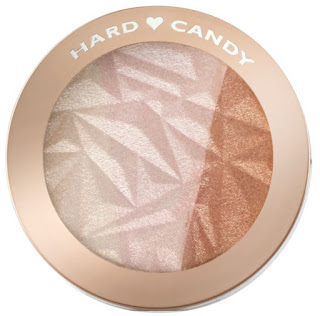 Glow rose gold with highlighters from Hard Candy, Maybelline and Sephora!