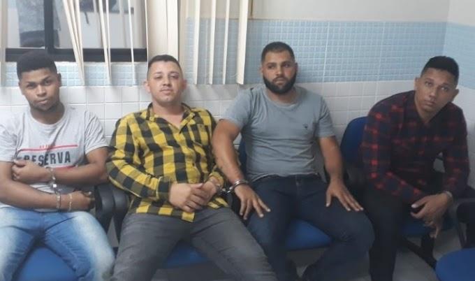 Suspeitos de roubos a bancos e de homicídio que residiam em Delmiro Gouveia são presos em Pernambuco