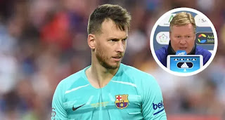 Koeman confirms Neto requesting Barca exit in January