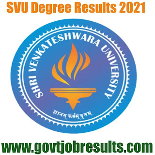 SVU Degree Results in 2021