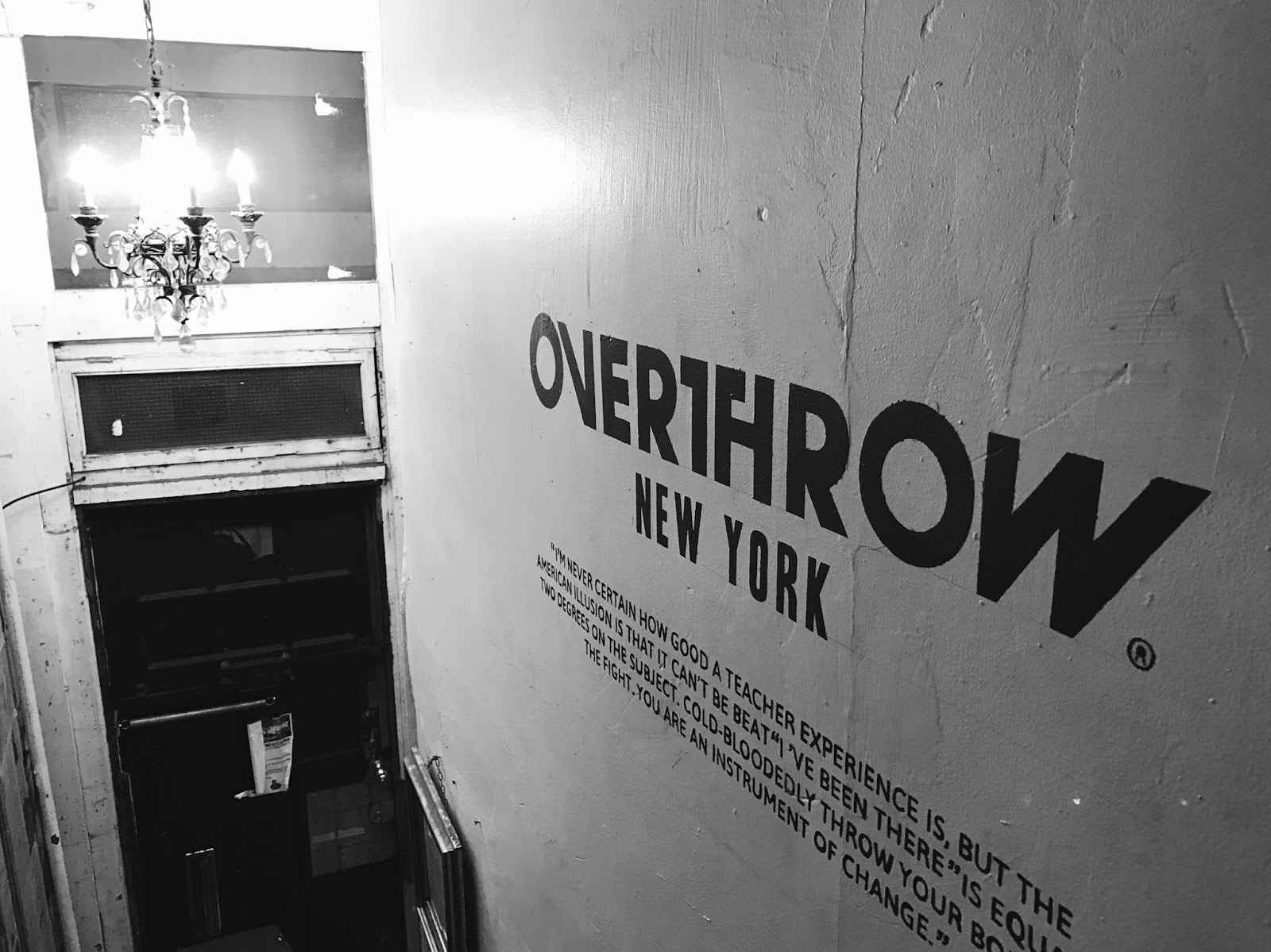 Boxing in New York | Overthrow