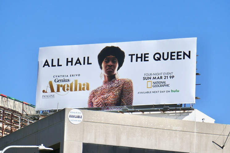 Genius Aretha series billboard