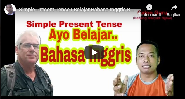 Simple Present Tense | Pengertian, Rumus dan Contoh Simple Present Tense