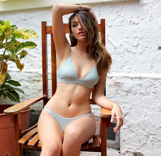 Hot girls Celine Farach sexy Florida model