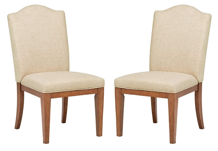 Stone & Beam Parson Armless Dining Chairs