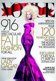Lady Gaga, 120th Issue Vogue Magazine