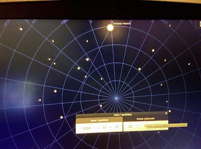 gwiazda polarna stellarium