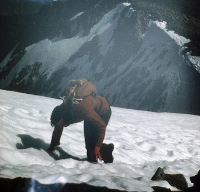Climbing Ben Nevis 1974