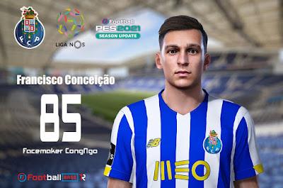 PES 2021 Faces Francisco Conceição by CongNgo