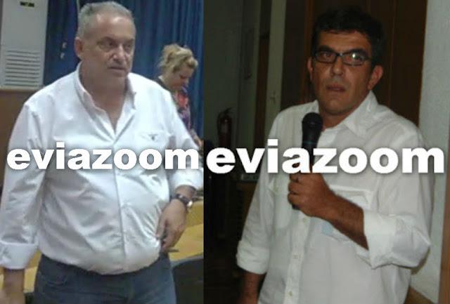 Κακός χαμός στο Επιμελητήριο Εύβοιας: Συνελήφθησαν Λιονάκης και Λαλανίτης μετά από άγριο καυγά - Κρατούμενοι και οι δύο στο ΑΤ Χαλκίδας - Αποκλειστικές δηλώσεις (ΒΙΝΤΕΟ)