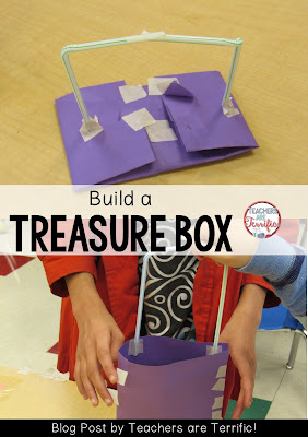 STEM Challenge: Read a pirate book and build a treasure box. Check this blog post for details!