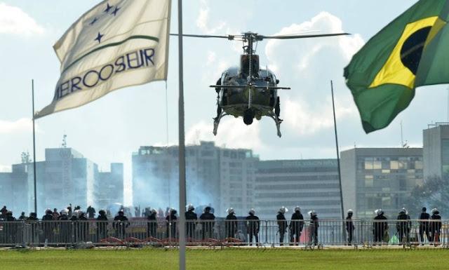 Exército assume a segurança na Esplanada dos Ministérios