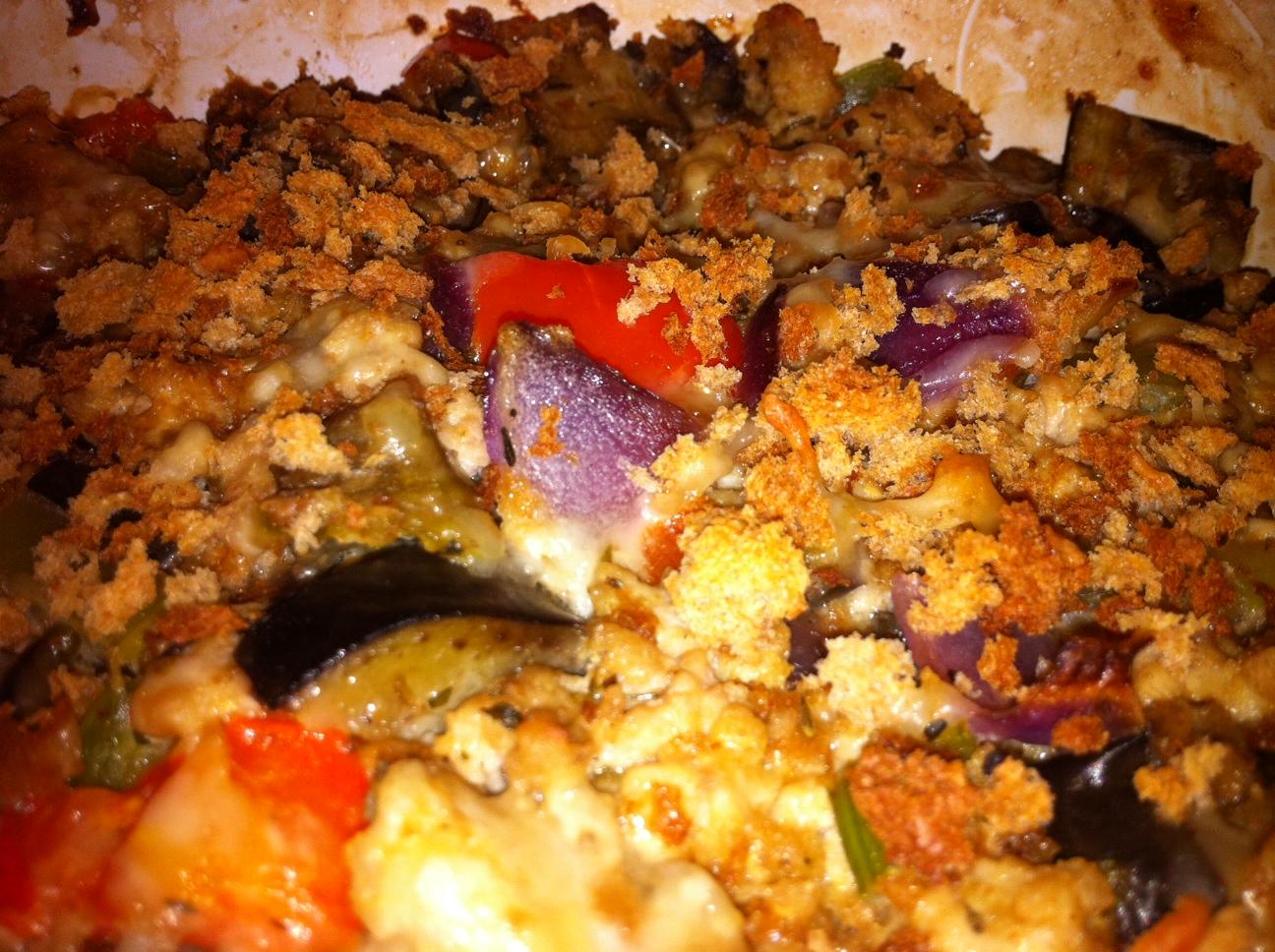 Hamburger and Fries!: Eggplant and Ground Chicken Casserole Recipe