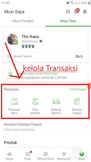 Kelola Transaksi di Tokopedia