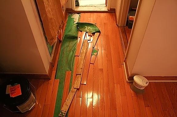 Floor installation, NY
