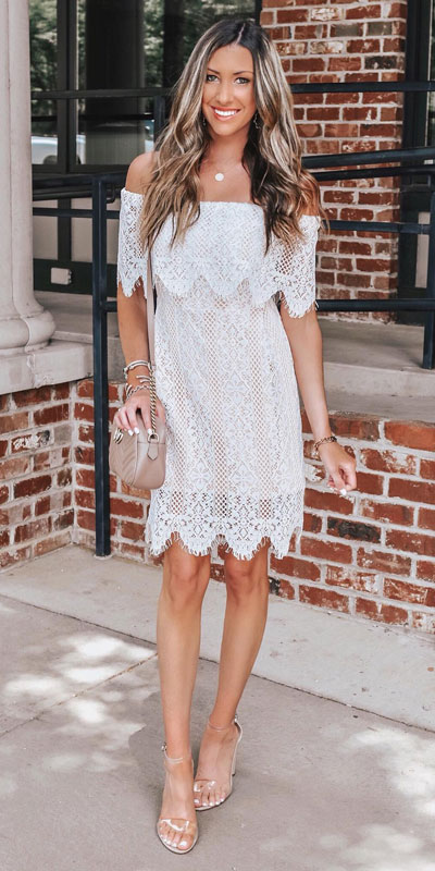 Look your best when you step out this holiday season. Here are 22 pure holiday style inspiration new ways to dress and impress in the upcoming christmas season. Holiday Fashion via higiggle.com | boho lace mini dress | #fashion #holiday #boho #lace