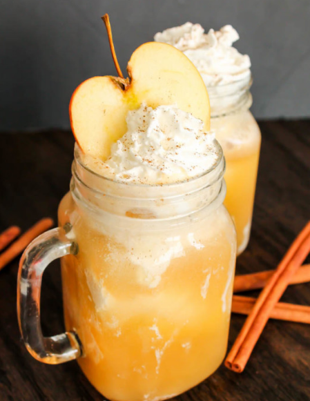 Apple Cider Floats #apple #cider #healthydrink #party #cocktail