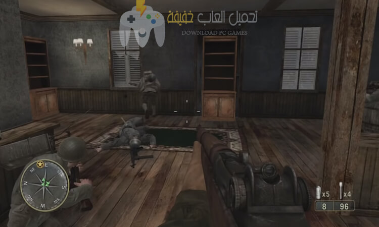 تحميل لعبة Call of Duty 3 مضغوطة