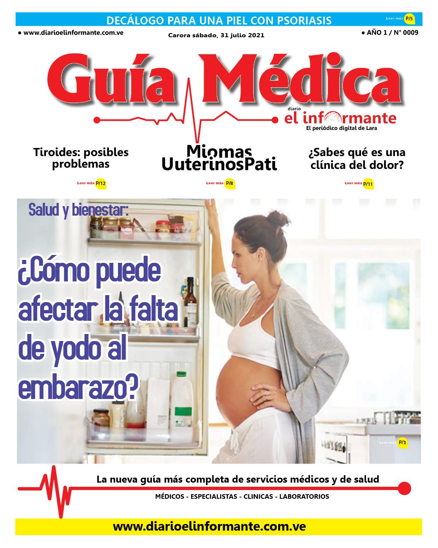 GUÍA MÉDICA EI INFORMANTE  EDICIÓN Nº 9   31 07 2021