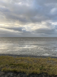 Harlingen afnemende zee