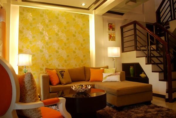 Wallpaper Alam Cantik untuk Ruang Tamu  Rancangan Desain Rumah Minimalis