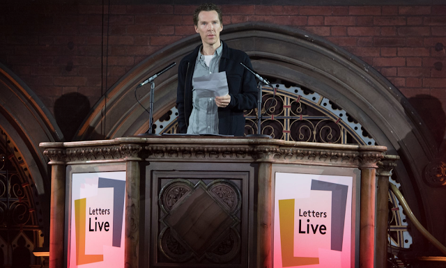 https://www.theguardian.com/books/2019/mar/13/benedict-cumberbatch-power-of-letters-thom-yorke-noel-fielding-letters-live?utm_source=dlvr.it&utm_medium=facebook&fbclid=IwAR31b1sHVbxCX9c50uDiU-ImPELkic6aGGounPU48lBllCQ1In47IHgBi4A