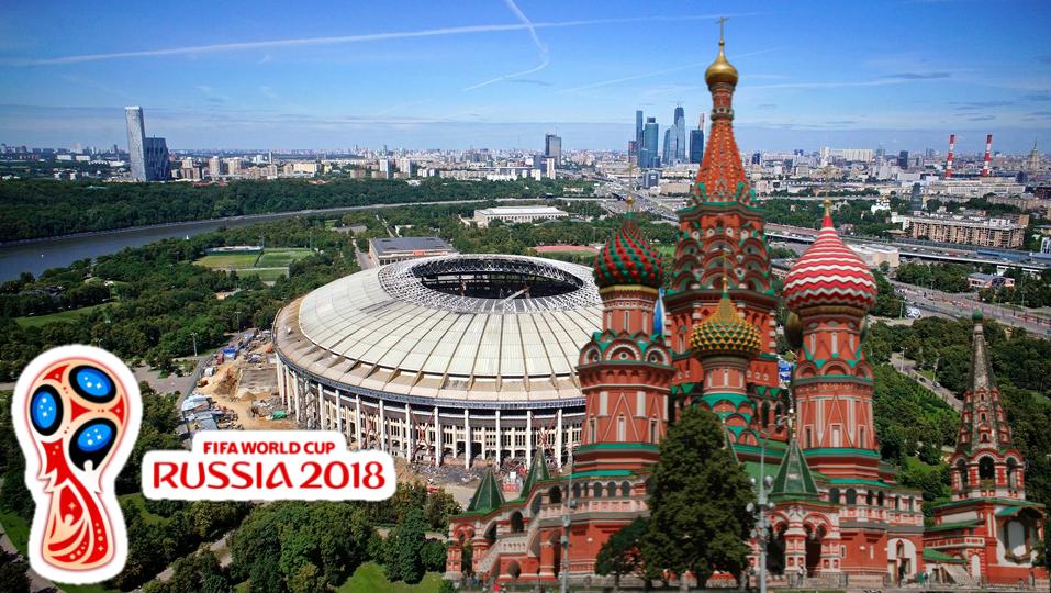 32 Seleções da Copa do Mundo de 2018 na Rússia