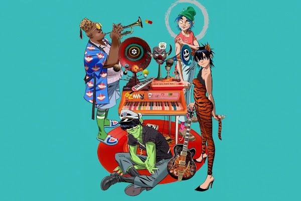 Gorillaz lança mais uma música do projeto 'Song Machine': 'Friday 13th'