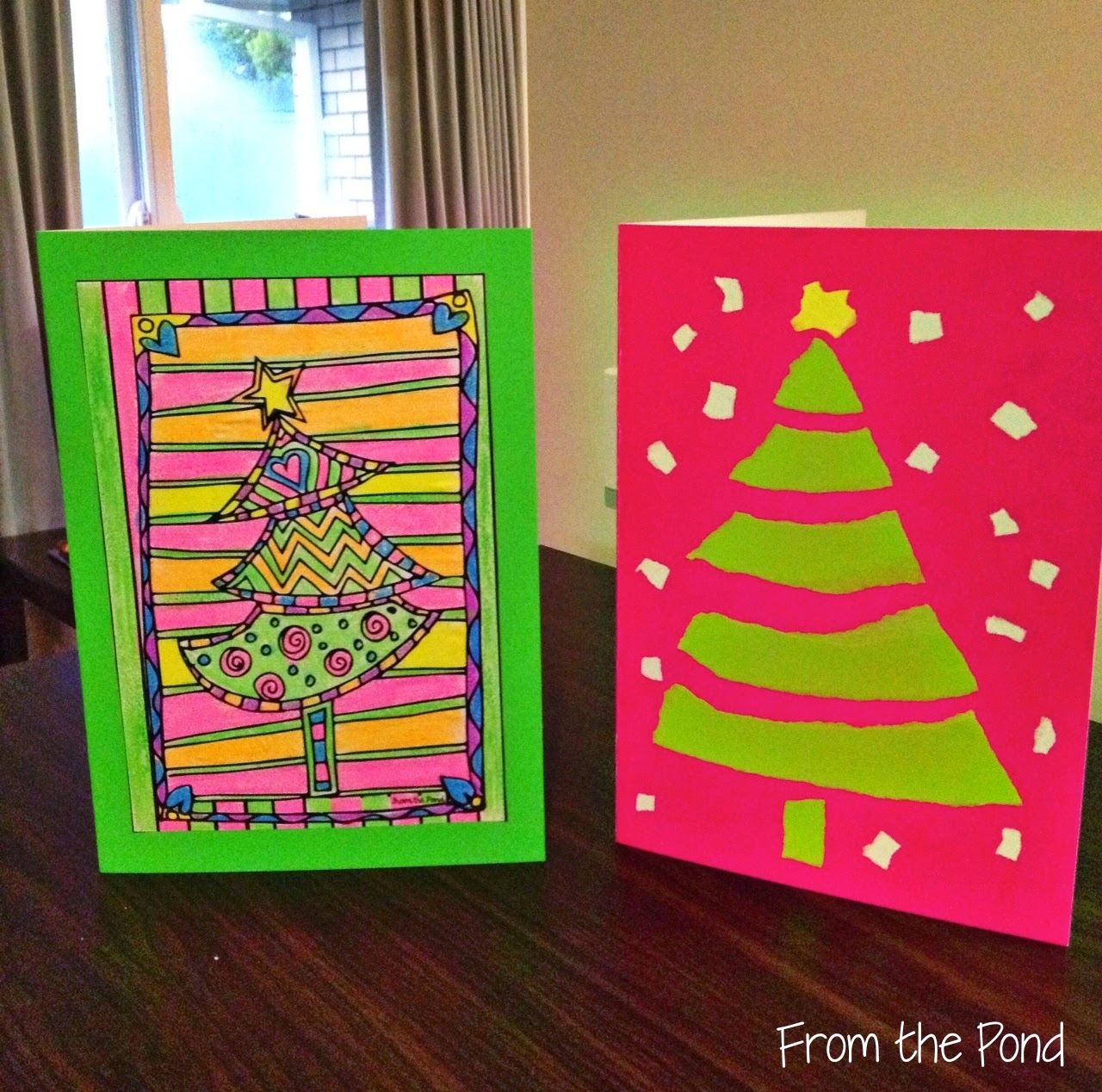 Marvelous Free Christmas Card Ideas For Children To Make Part - 10: Christmas Card Ideas