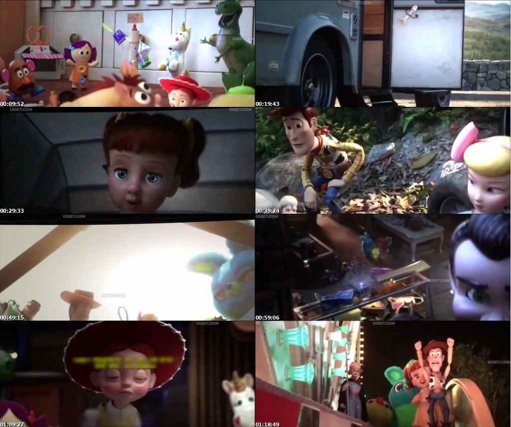 Watch Online Free Toy Story 4 (2019) Full Hindi Dual Audio Movie Download 480p 720p HD