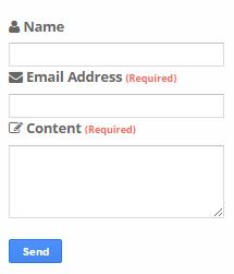 Cara membuat halaman Contact Us di blog
