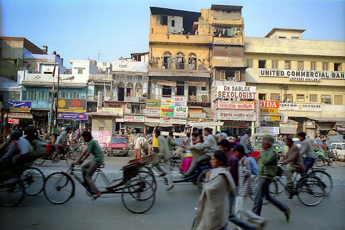 New Delhi, Chandni Chowk, Sablok, Sexologist, © L Gigout, 1991