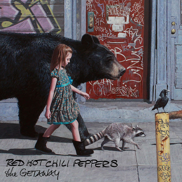 Red Hot Chili Peppers - The Getaway Cover