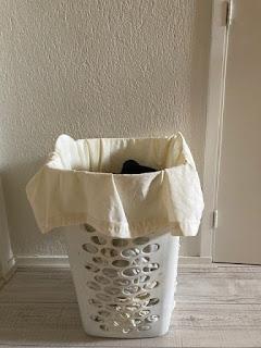 waszak naaien uit dekbedhoes