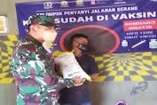 Ditengah Covid-19, Koramil 0201/Kota Serang Berbagi Sembako