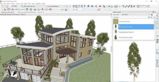 Aplikasi Desain Rumah untuk PC