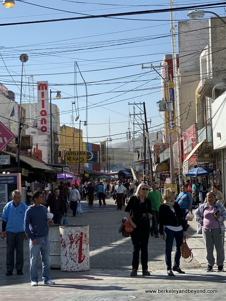 downtown Juarez, Mexico