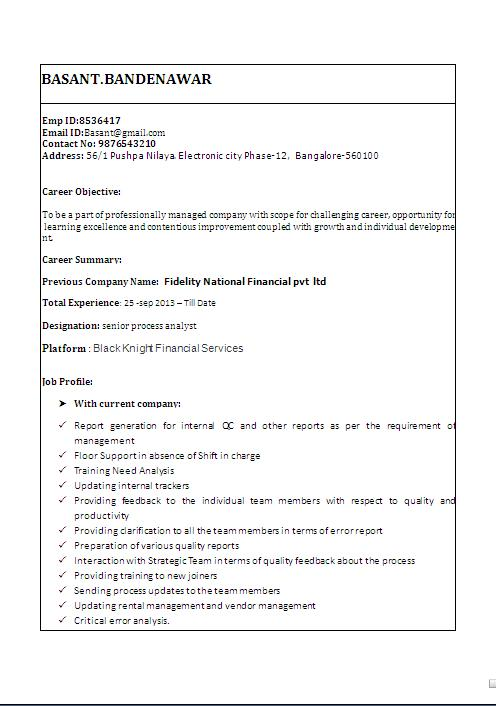 canadian resume sample free download