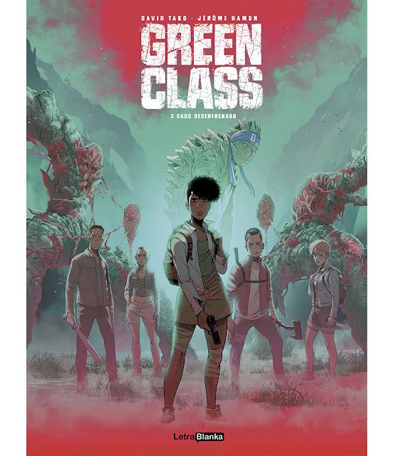 Review del cómic Green Class vol.3 de David Tako y Jerome Hamon - LetraBlanka Editorial