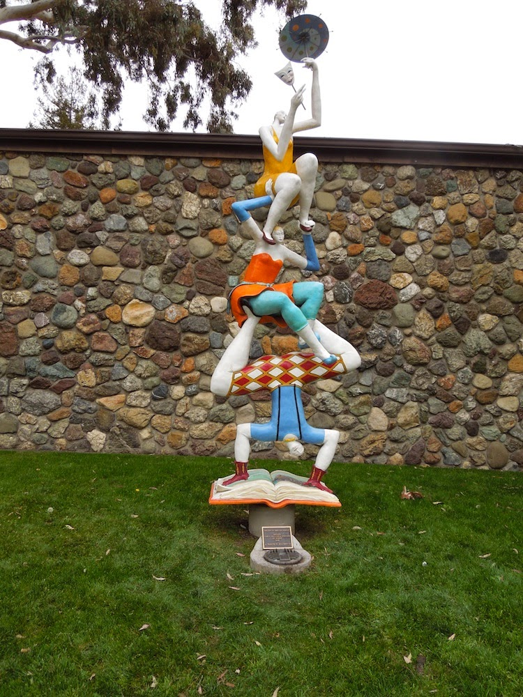 Little Theater Sculpture in San Luis Obispo, ©B. Radisavljevic