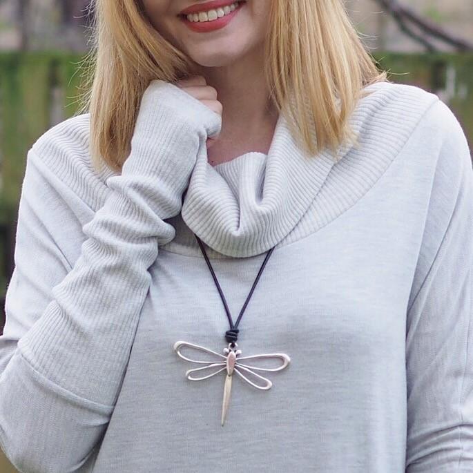 Large dragonfly pendant, £15