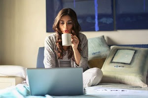 How to stay positive while working from home