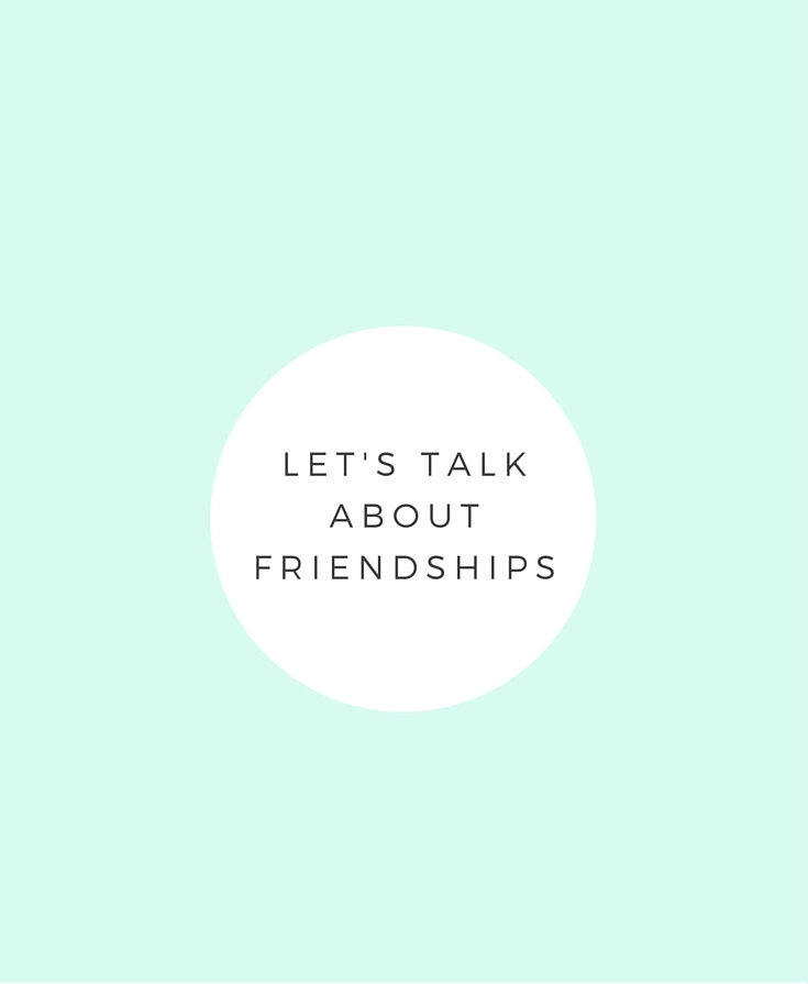 Advice on Friendships