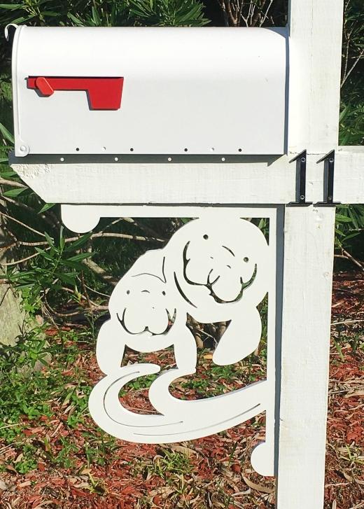 Outdoor Decor Florida Made Corner Brackets Mailbox