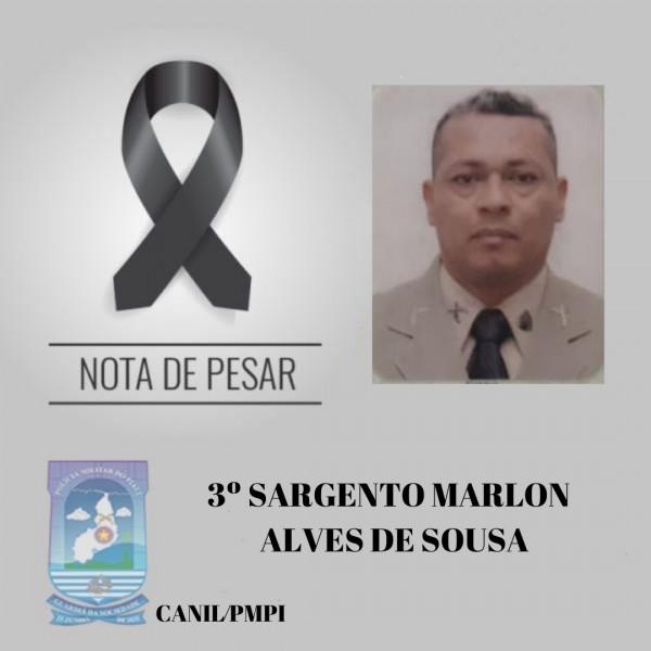 Sargento Marlon morre vítima de Covid-19 no Hospital Getúlio Vargas