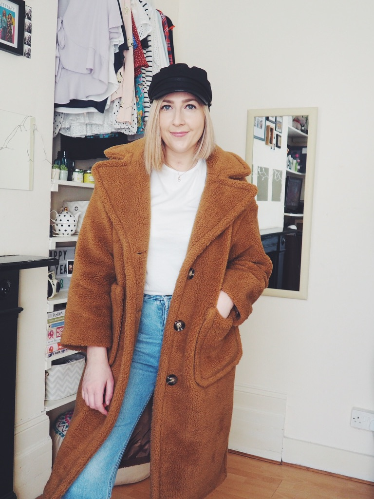 fbloggers, mycoatcollection, myjacketcollection, pinktopshopcoat, misguidedtruckercoat, asosteddycoat, f&faviatorjacket, primarkdenimcoat, fauxleatherjacket, checkedblazer, yellowraincoat, vintagedenim