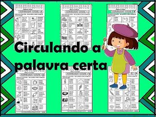 Atividades avaliativas de português