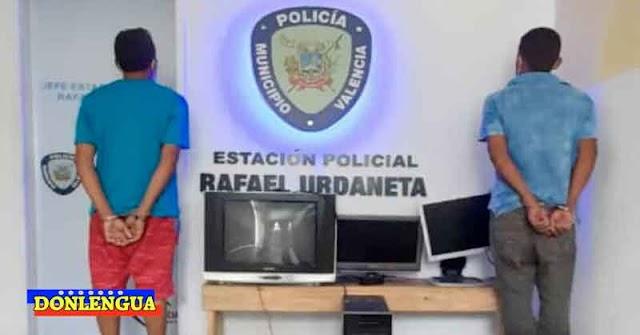 Detenidos Los Topos de Flor Amarillo tras robarse un televisor y una computadora