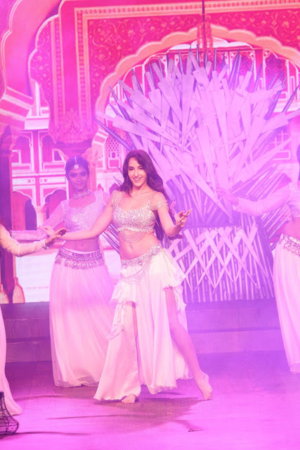 Nora Fatehi at Miss India South 2018
