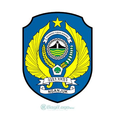 Kabupaten Nganjuk Logo Vector